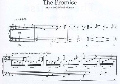 partition piano nyman