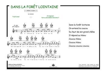 Editions Musicales Bourgès R Le Coucou Dans La Forêt