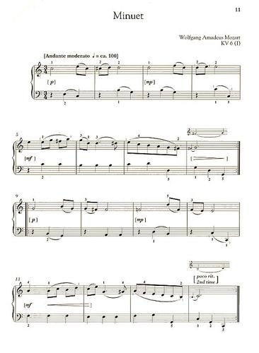 mozart piano pieces easy pdf