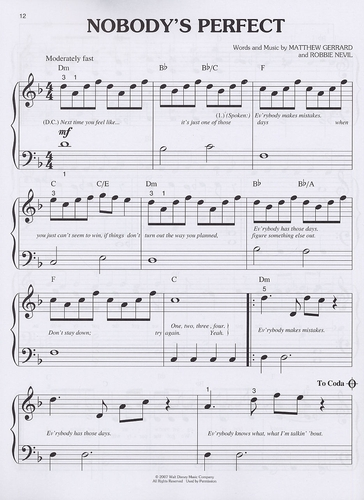 Piano tablature piano facile gratuite : Miley Cyrus - Hannah Montana - Easy Piano - sheet music books ...