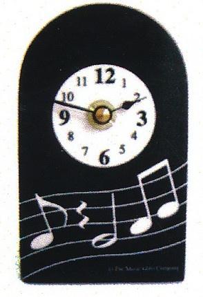 horloge wavy music cadeaux musique achat en ligne free. Black Bedroom Furniture Sets. Home Design Ideas