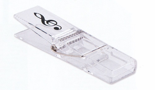 grand clip grande pingle r sine transparente cl de sol cadeaux musique achat en ligne. Black Bedroom Furniture Sets. Home Design Ideas