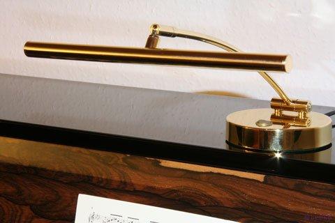 lampe led pour piano droit laiton poli 2 flammes lampes pour piano piano achat en. Black Bedroom Furniture Sets. Home Design Ideas