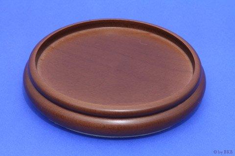 Isolateur en bois couleur noyer moyen 90mm avec feutre for Diametre interieur per