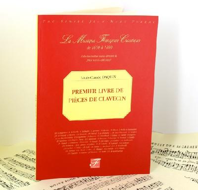 Daquin, Louis-Claude : Daquin First book of harpsichord pieces Harpsichord