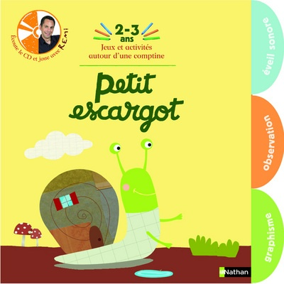 Guichard, R�mi : Petit escargot - 3/4 ans