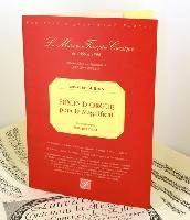 Guilain, Jean-Adam : Organ pieces for the Magnificat