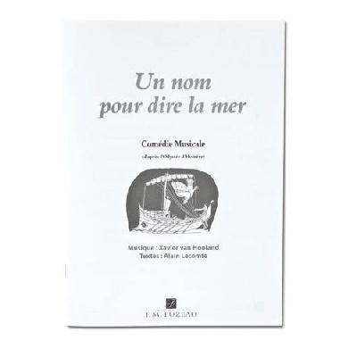 Partitions Eleves `Un Nom Pour Dire La Mer`