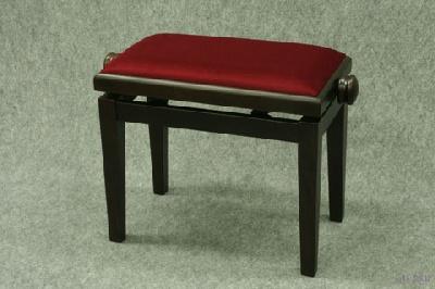 banquette de piano bois palissandre mat skai rouge pourpre coll e piano buy online. Black Bedroom Furniture Sets. Home Design Ideas