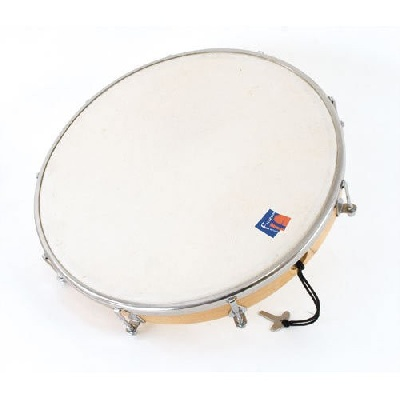 Tambourin 25 Cm Peau Synthetique Sans Cymb.