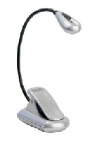 Lampe pupitre KandM Xtra Flex Argent