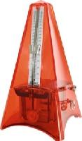 Métronome Taktell System Mälzel Plastique Avec Sonnerie Couleur Orange Transparent
