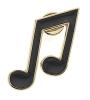 Mini pin : Note de musique [Quavers]