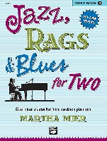 Mier, Martha : Jazz, Rags and Blues For Two - Book 2