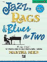 Mier, Martha : Jazz, Rags and Blues For Two - Book 3