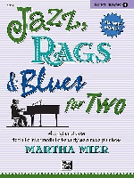 Mier, Martha : Jazz, Rags and Blues For Two - Book 4