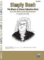 Bach, Johann Sebastian : Simply Bach