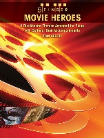 Movie Heroes For Student Piano Solo