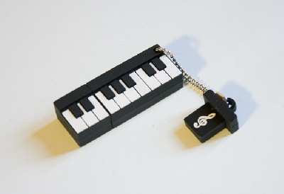 Clé USB Piano 8GB Flash Drive [Piano USB Flash Drive 8GB]