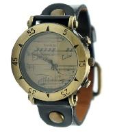Montre Motifs Musicaux - Noir [Wrist Watch Music Notes - Black]