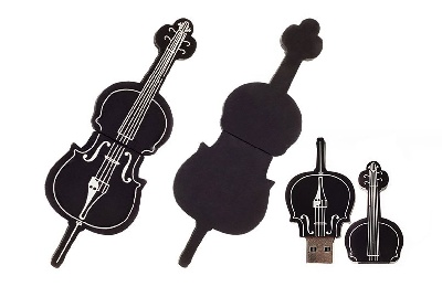 Clé USB Violoncelle 16GB Flash Drive [Cello USB Flash Drive 16GB]