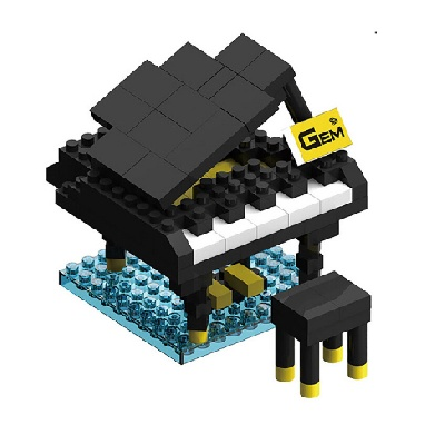 piano queue lego piano solo acheter accessoires de musique. Black Bedroom Furniture Sets. Home Design Ideas