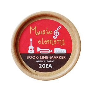 Boîte de Marque Pages Instruments de Musique [Box of Bookmarks Musical Instruments]