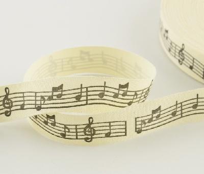 Ruban Portée Musicale [Ribbon Musical Score]