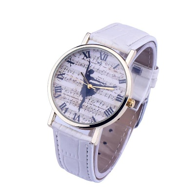 Montre La Danse - Blanc [Wrist Watch Dance - White]
