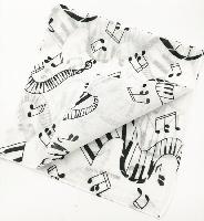 Music Notes / Keyboard Bandana