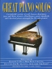 Great Piano Solos : The Blue Book
