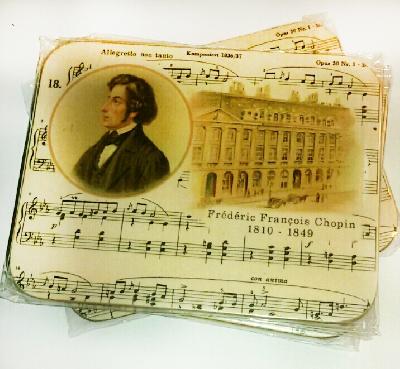 Dessous de verre en liège - Chopin