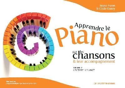 Puren, Bruno / Emery, Cécile : Apprendre le Piano par les Chansons and leur Accompagnement Vol.2
