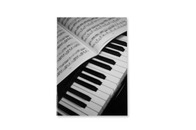 Bloc-Notes - Grand Format - Piano