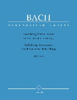 Variations Goldberg BWV 988 (Aria et 30 variations) / Goldberg Variations BWV 988 (Aria and 30 Variations) (Bach, Johann Sebastian)