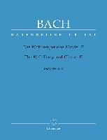 Bach, Johann Sebastian : Le Clavier (Clavecin) bien tempéré II BWV 870-893 / The Well-Tempered Clavier II BWV 870-893