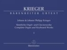 Krieger, Johann Philipp - Krieger, Johann : ?uvres compl�tes pour clavecin et orgue - Volume 1 / Complete Organ and Keyboard Works - Volume 1