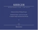 Krieger, Johann Philipp - Krieger, Johann : ?uvres compl�tes pour clavecin et orgue - Volume 2 / Complete Organ and Keyboard Works - Volume 2