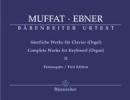 Muffat, Georg / Ebner, Wolfgang : Complete Works for Keyboards (Organ) - Volume 2