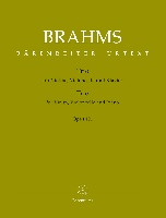 Brahms, Johannes : Trio for Violin, Violoncello and Piano op. 101