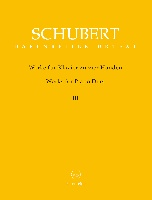 Schubert, Franz : Works for Piano Duet (Four Hands-One Piano), Volume 3