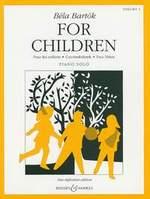 Bartók, Béla : Bartók For Children - Voulme 1