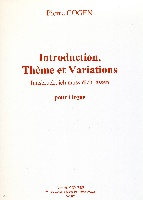 Introduction, Thème et Variations