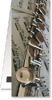 Bookmark Flute Magnetic