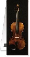 Bookmark Violin Magnetic