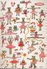 Carte Postale d\'Art `Souris et Entrechats à l\'Opéra`