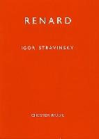 STRAVINSKY RENARD STUDY SCORE