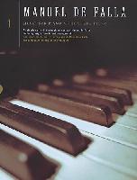 DE FALLA MANUEL MUSIC FOR PIANO VOL.1