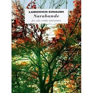 Einaudi Ludovico Sarabande For Solo Violin And Piano