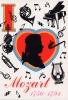 Carte Postale d\'Art `I Love Mozart`